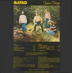 "Matao ""Turkish delight"" cover"